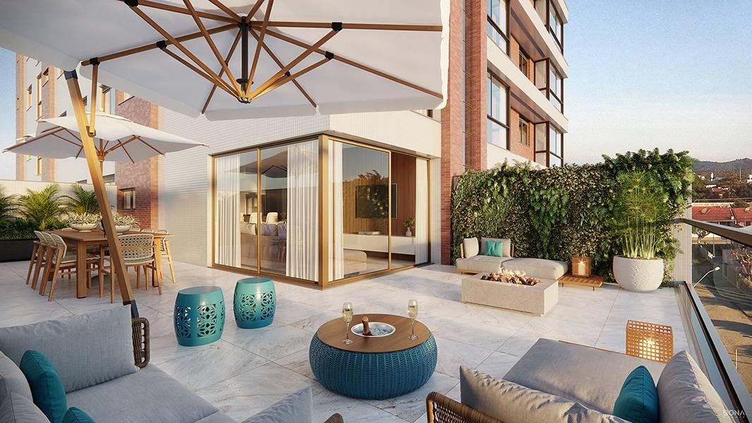 Terraço do living (apartamento)