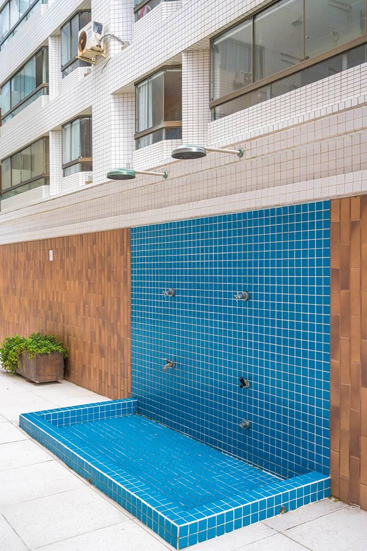 Chuveiros piscina